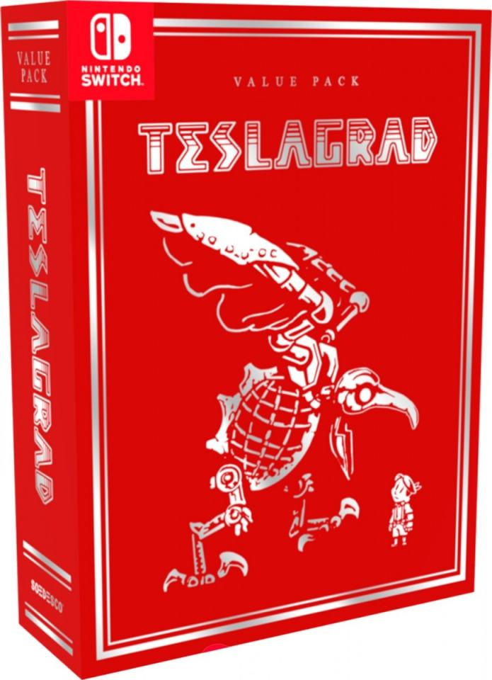 teslagrad retail value pack limited run games nintendo switch cover limitedgamenews.com