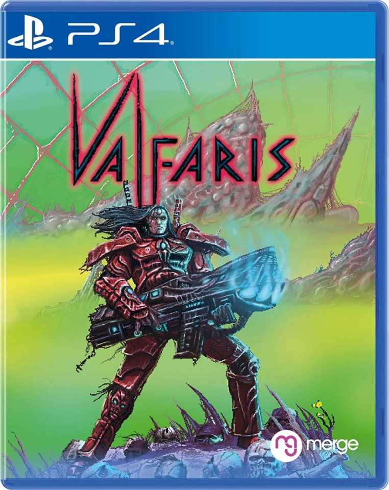 valfaris retail merge games ps4 cover limitedgamenews.com