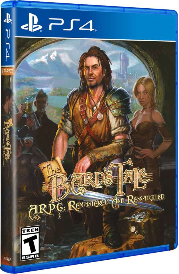 bard's tale arpg remastered and resnarkled retail limited run games ps4 cover limitedgamenews.com