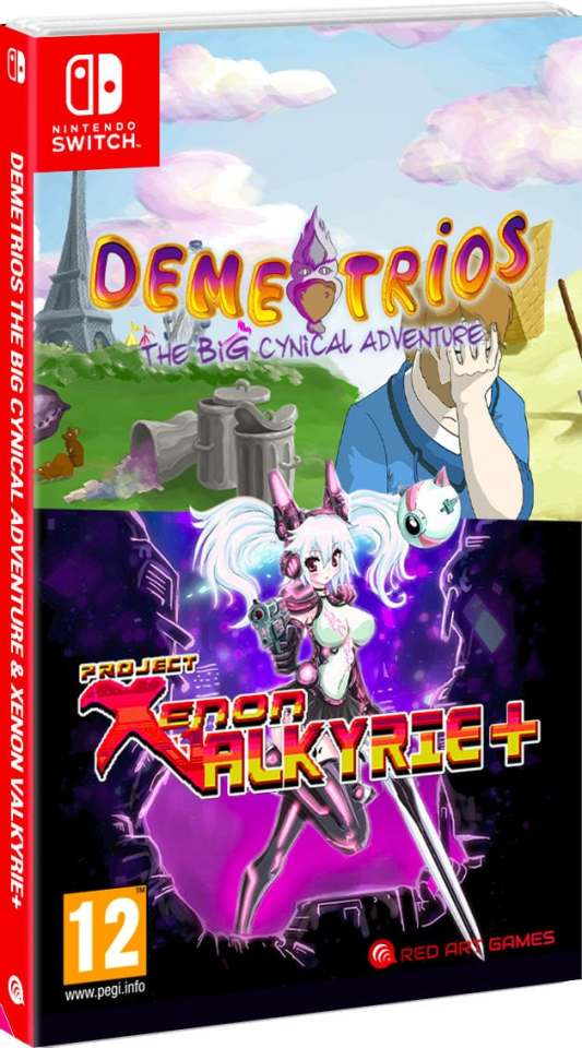 demetrios project xenon valkyrie plus bundle physical release red art games nintendo switch cover limitedgamenews.com