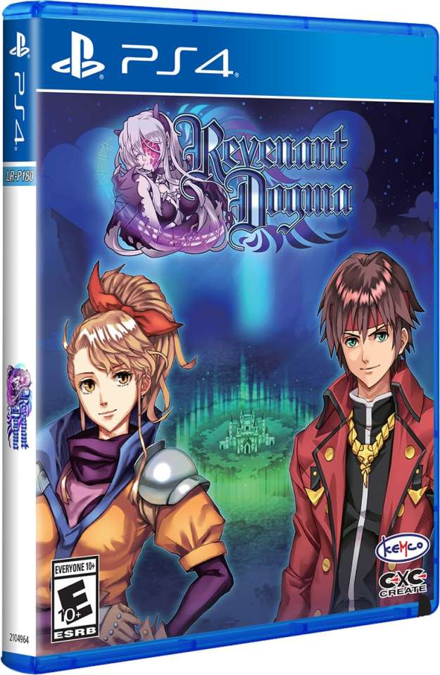 revenant dogma physical release limited run games ps4 cover limitedgamenews.com