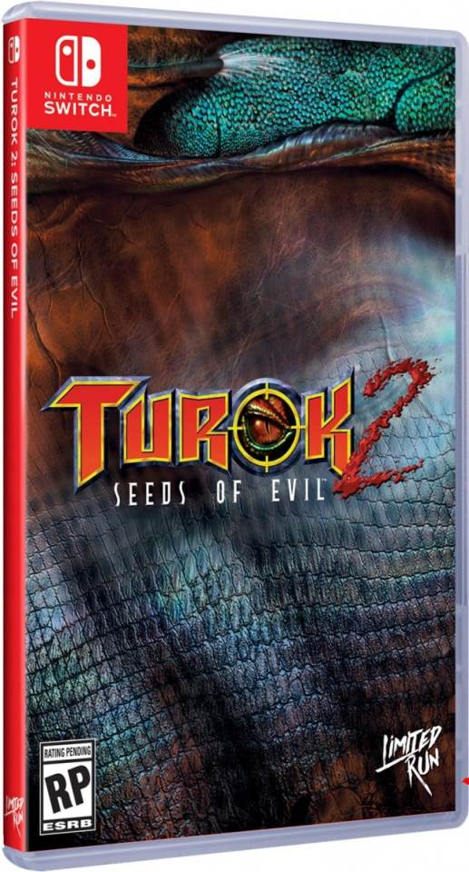 turok 2 seeds of evil retail limited run games nintendo switch cover limitedgamenews.com
