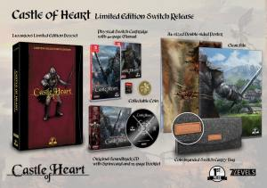 castle of heart physical release first press games limited edition set nintendo switch cover limitedgamenews.com