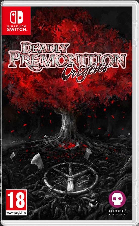 deadly premonition origins retail release numskull games nintendo switch cover limitedgamenews.com