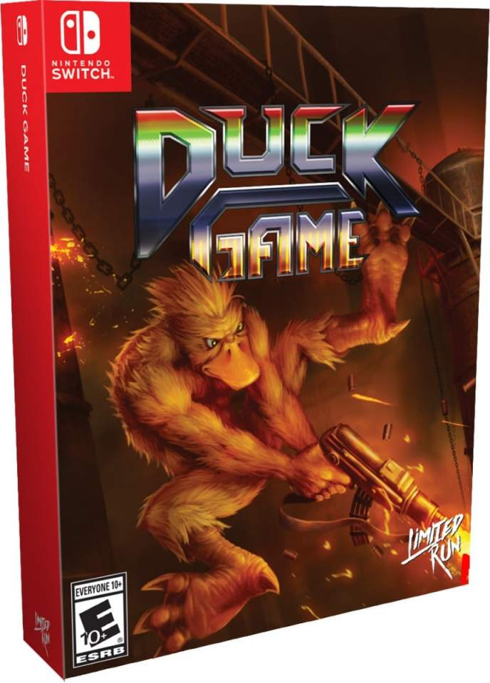 duck game physical release limited run games deluxe edition nintendo switch cover limitedgamenews.com