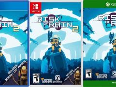 risk of rain 2 retail release xbox one ps4 nintendo switch cover limitedgamenews.com