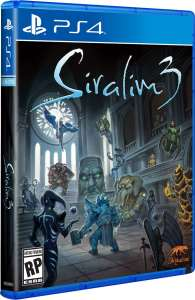 siralim 3 physical release limited run games ps4 cover limitedgamenews.com
