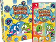 bubble bobble 4 friends slg editions physical release strictly limited games nintendo switch cover limitedgamenews.com