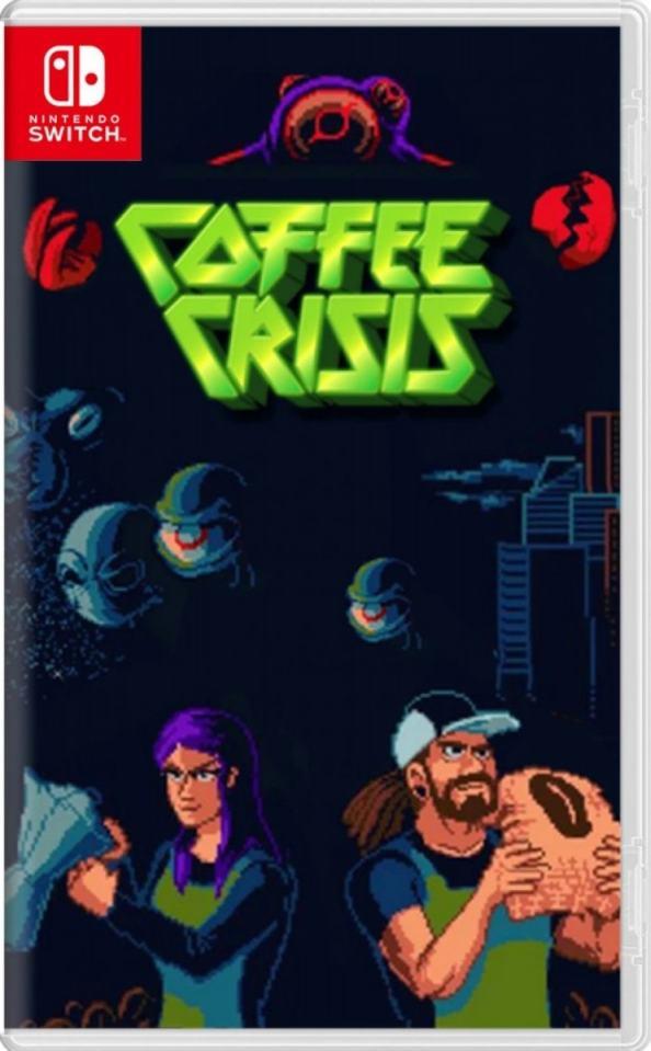 coffee crisis special edition retail release mega cat studios nintendo switch cover limitedgamenews.com