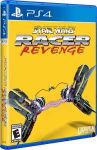 star wars racer revenge physical release limited run games standard edition ps4 cover limitedgamenews.com