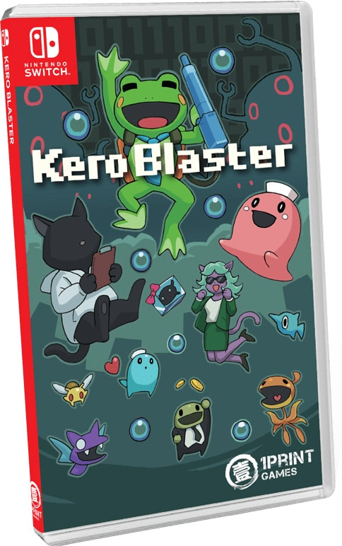 kero blaster physical release 1printgames nintendo switch cover limitedgamenews.com