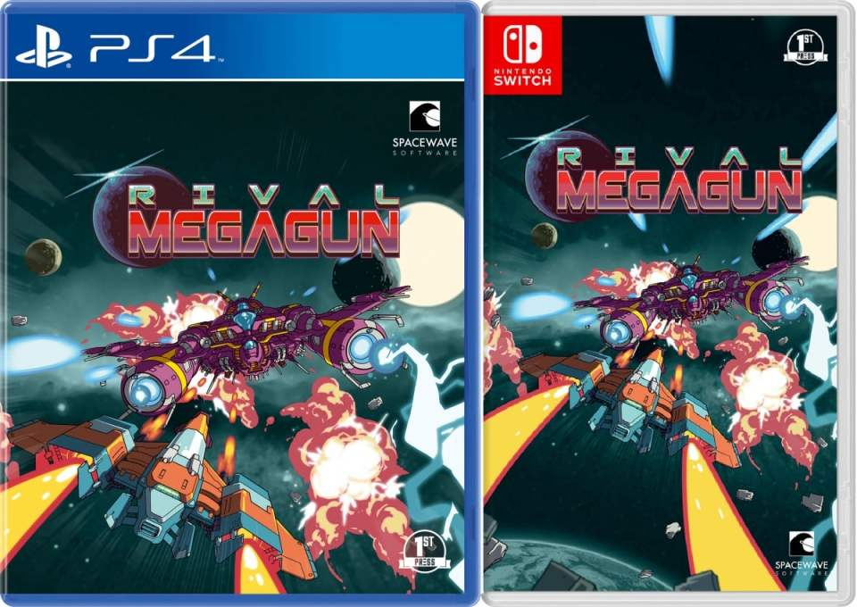 rival megagun physical release first press games ps4 nintendo switch cover limitedgamenews.com