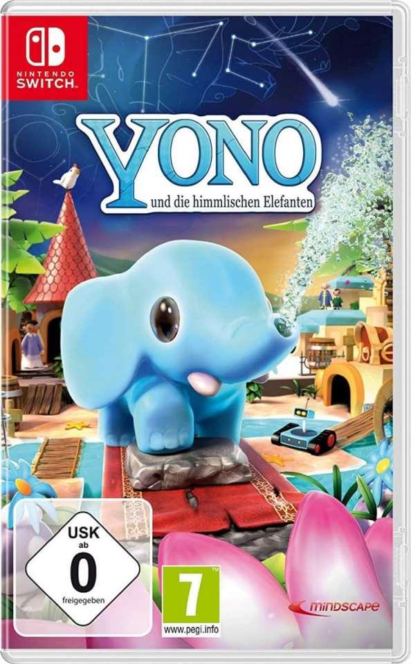 yono und die himmlischen elefanten retail release nintendo switch cover limitedgamenews.com