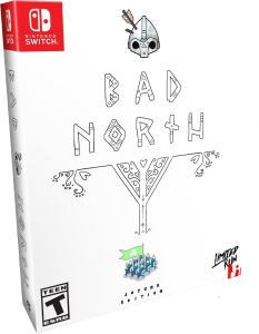 bad north jotunn edition collectors edition physical release limited run games nintendo switch cover limitedgamenews.com