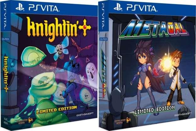 knightin + metagal limited edition asia multi-language eastasiasoft ps vita cover limitedgamenews.com