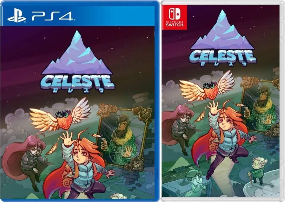 celeste asia multi-language retail flyhigh works release ps4 nintendo switch cover limitedgamenews.com