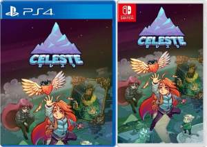 celeste asia multi-language retail flyhigh works release ps4 nintendo switch cover limitedgamenews.com