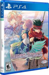 legend of the tetrarchs physical release limited run games ps4 cover limitedgamenews.com