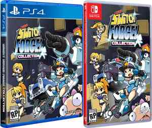 mighty switch force collection physical release limited run games standard edition ps4 nintendo switch cover limitedgamenews.com