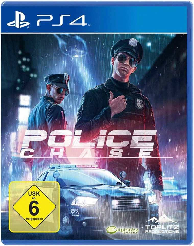 police chase european retail release ps4 cover limitedgamenews.com