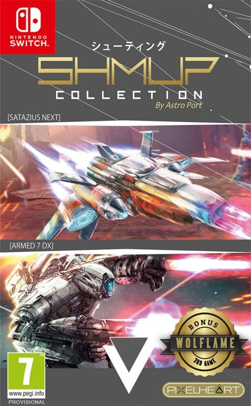 shmup collection physical release pixelheart nintendo switch cover limitedgamenews.com