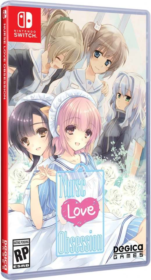 nurse love obsession physical release limited run games nintendo switch cover limitedgamenews.com