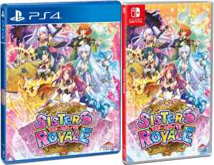 sisters royale physical release strictly limited games standard edition ps4 nintendo switch cover limitedgamenews.com