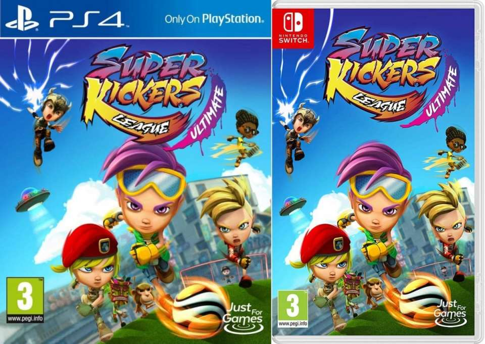 super kickers league ultimate retail release ps4 nintendo switch cover limitedgamenews.com