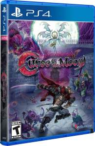 bloodstained curse of the moon physical release limited run games pax variant ps4 cover limitedgamenews.com