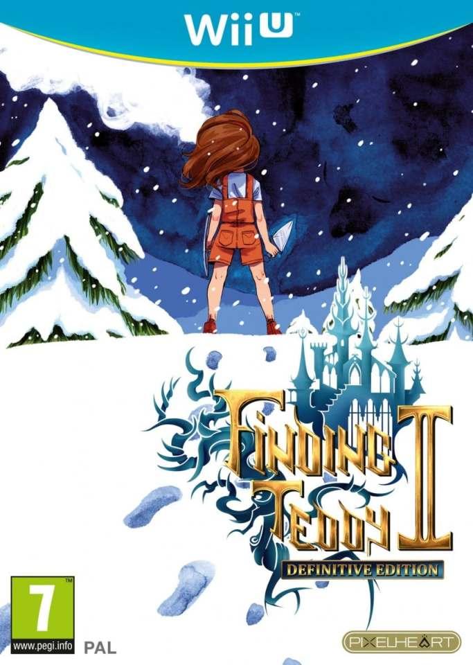 finding teddy ii physical eu release pixelheart_eu nintendo wii u cover limitedgamenews.com