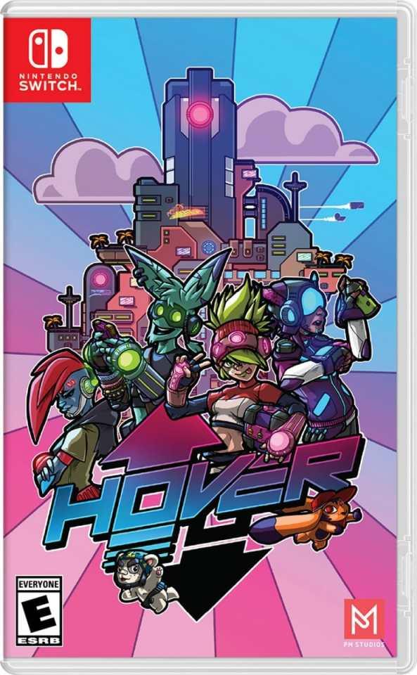 hover physical release pm studios nintendo switch cover limitedgamenews.com