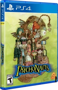 psychonauts iam8bit variant limited run games ps4 cover limitedgamenews.com