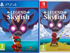 legend of the skyfish physical release red art games ps4 nintendo switch cover limitedgamenews.com