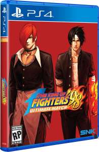 the king of fighters 98 ultimate match physical standard edition release limited run games ps4 cover limitedgamenews.com
