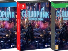 cloudpunk physical release release signature edition games xbox one ps4 nintendo switch cover limitedgamenews.com