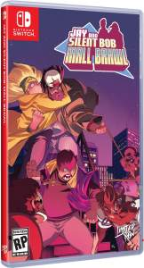jay and silent bob mall brawl standard edition physical release limited run games nintendo switch cover limitedgamenews.com
