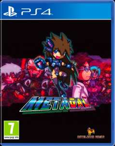 metagal physical release red art games ps4 cover limitedgamenews.com