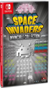 space invaders invincible collection standard edition physical release strictly limited games nintendo switch cover limitedgamenews.com