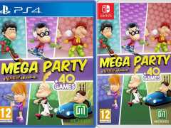 titeuf mega party a tootuff adventure retail release microids ps4 nintendo switch cover limitedgamenews.com