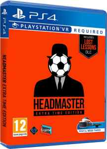 headmaster extra time edition physical release perp games psvr cover limitedgamenews.com