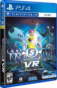 space channel 5 standard edition physical release limited run games psvr cover limitedgamenews.com