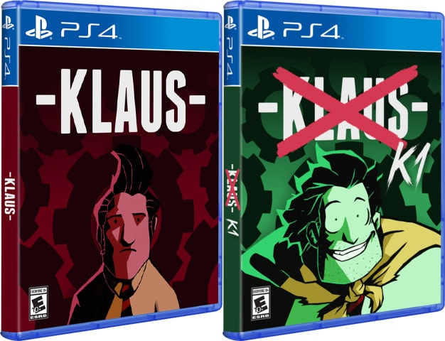 klaus retail release hard copy games ps4 cover www.limitedgamenews.com