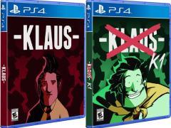 klaus retail release hard copy games ps4 cover www.limitedgamenews.com