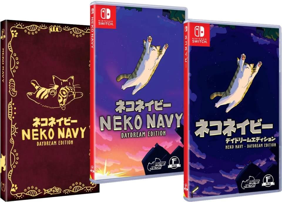 neko navy daydream edition retail release first press games western jp regular edition nintendo switch cover www.limitedgamenews.com