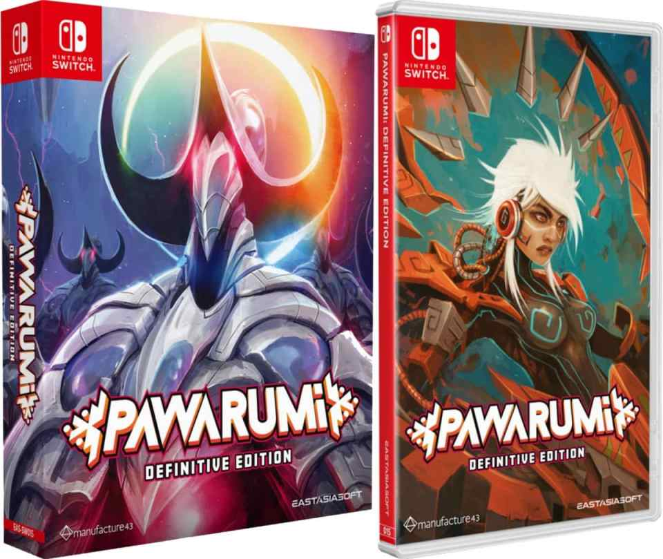 pawarumi definitive edition retail release eastasiasoft limited edition standard edition nintendo switch cover www.limitedgamenews.com