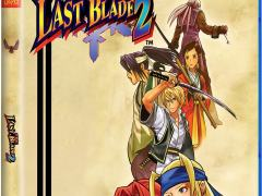 the last blade 2 retail release limited run games standard edition ps4 cover www.limitedgamenews.com