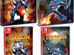 turrican anthology vol 1 2 retail release strictly limited games standard edition ps4 nintendo switch cover www.limitedgamenews.com