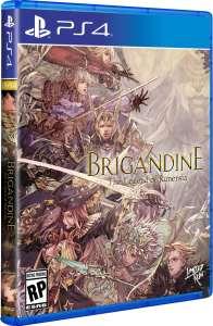 brigandine the legend of runersia retail release limited run games standard edition playstation 4 cover www.limitedgamenews.com