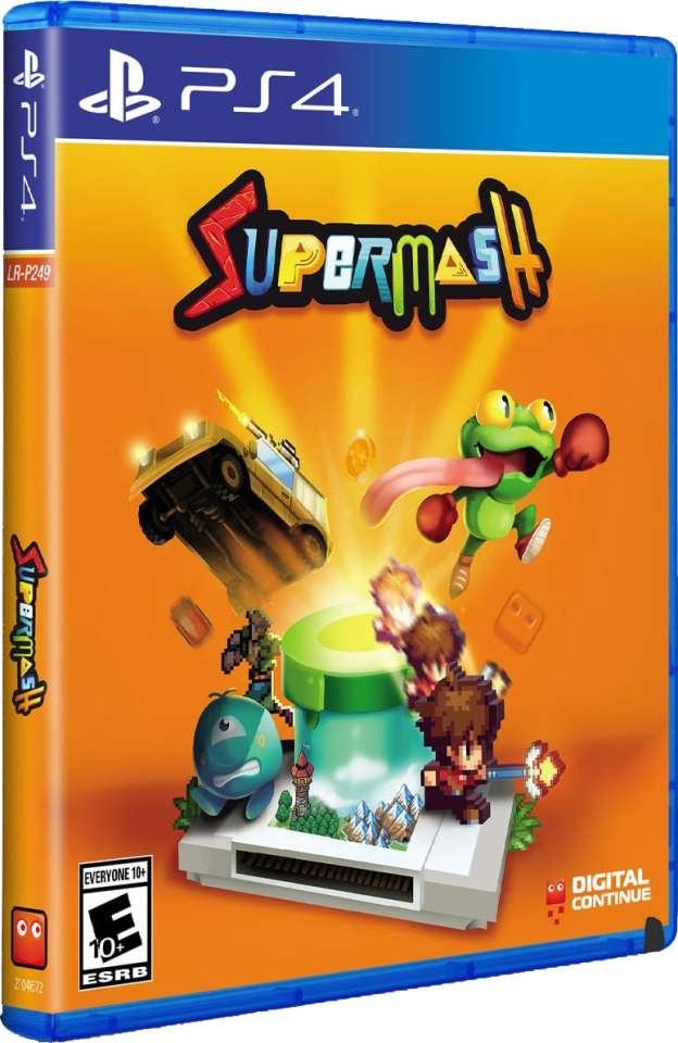 supersmash retail release limited run games playstation 4 cover www.limitedgamenews.com
