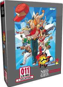 fatal fury battle archives volume 2 retail limited run games collectors edition playstation 4 cover www.limitedgamenews.com